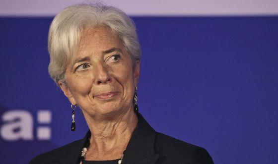 En la imagen, la directora gerente del Fondo Monetario Internacional, Christine Lagarde. / EFE
