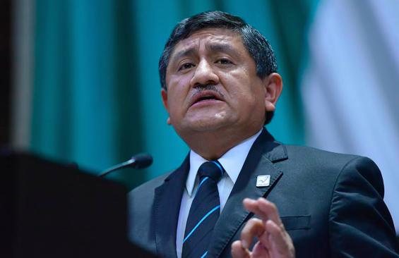 El diputado federal José Angelino Caamal