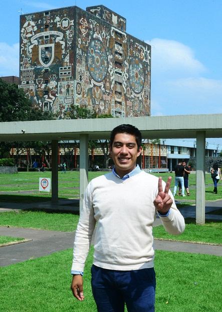 Alumno de Ciencias de la UNAM, astronauta de misión análoga a Marte