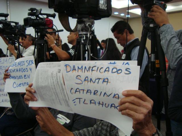 Denuncian violaciones a derechos humanos  de personas damnificadas por los sismos