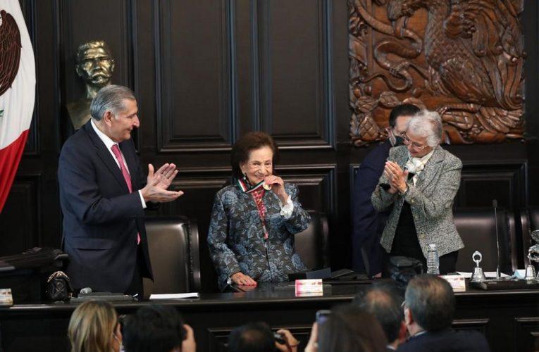 A sus 91 años, una ilustre mujer mexicana propuso lograr un país más justo y democrático